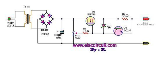 the-variable-high-voltage-power-supply-0-300V