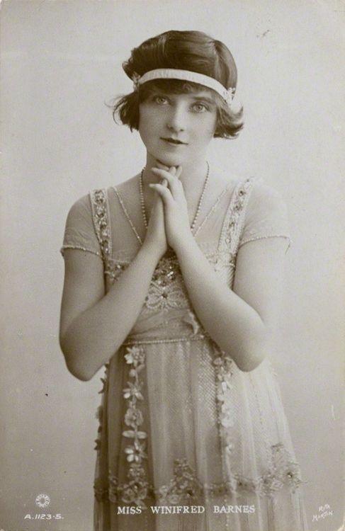 Winifred Barnes, 1910s