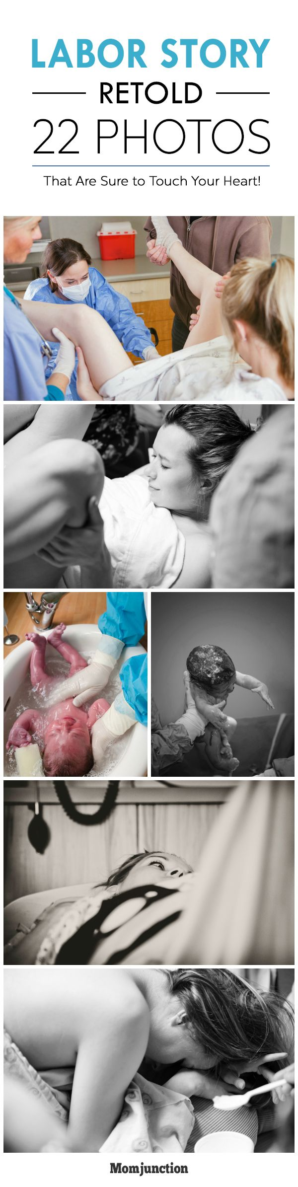 Labor Story Retold In These 22 Heart Touching Photos #Pregnancy
