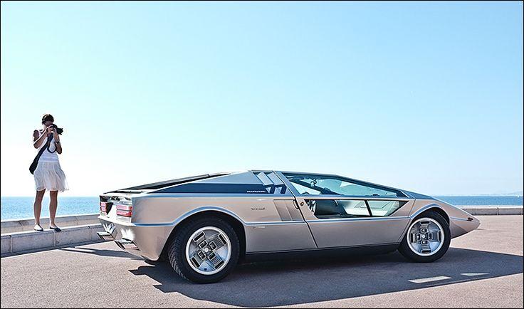 1971 Maserati Boomerang designed by Giorgetto Giugiaro.