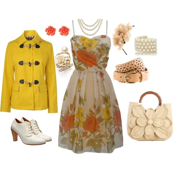 Just made this on Polyvore... wish I owned it for real!!!: Yellow Vintage, Silk Flowers, Silk Dresses, Flowers Dresses, Petite Yellow, Silk Prom, Prom Dresses, Vintage Silk, Floral Dresses