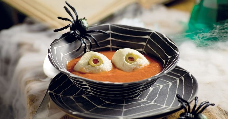 bol d'Halloween à la tomate #halloween