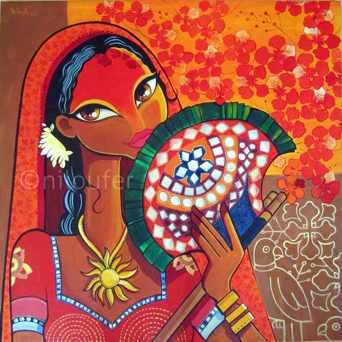 Niloufer Wadia Art from India