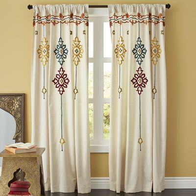 Riya Suzani Curtain 60 65 Pier One I Could Make This Curtains D Cute