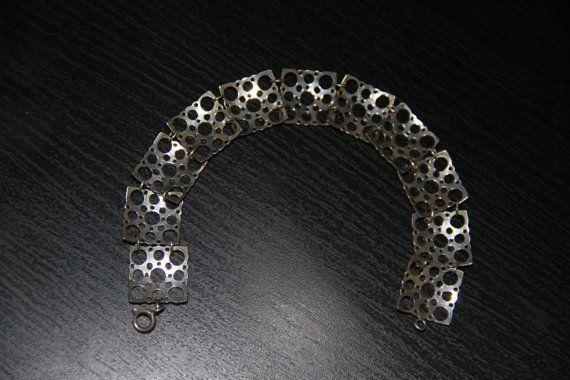 Liisa Vitali leppäkerttu ladybug silver bracelet. by Piippana