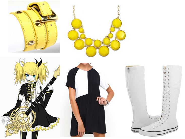 Meltdown-Rin Kagamine- Outfit