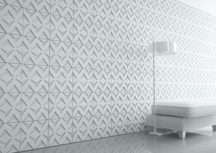 Pin 9: Polystyrene is material with a variety of colors, shapes and forms. One example of that is this wall, which is use part of decoration.