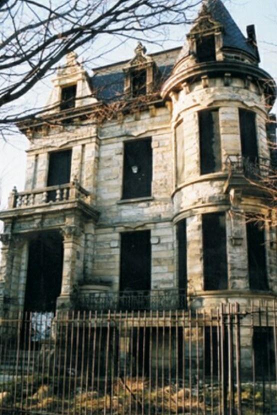 Beautiful Victorian abandoned