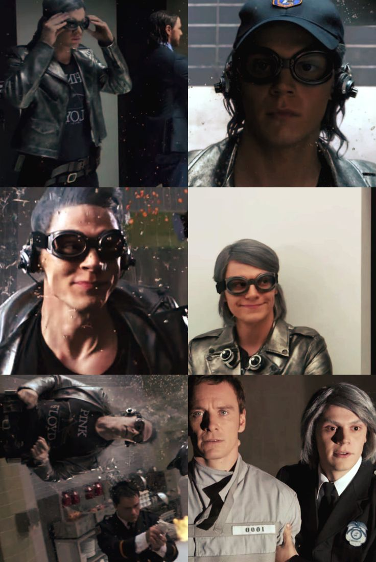 Evan Peters as QuickSilver in days of future past