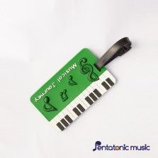 Musical Journey ID Tag - Green
