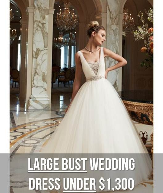 Dress ideas for big boobs google search clo wedding for Wedding dresses for big busted women