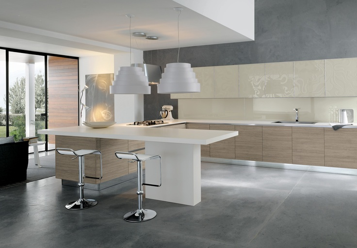 06 Contemporary kitchen VENUS by Zecchinon | Archisesto Chicago |