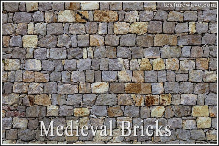 30 New Medieval Brick Textures (80 photos) available on texturewave.com
