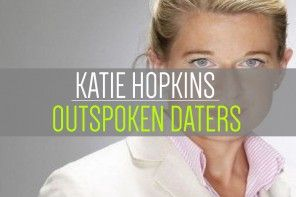 Would you date someone outspoken like Katie Hopkins? After her recent performance on This Morning what do you think? #KatieHopkins #FatChildrenDebate