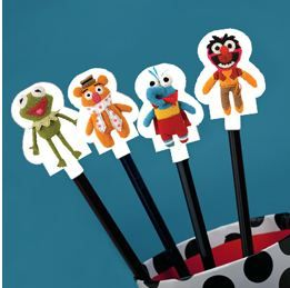 Fun, Free Muppets Pook-a-Looz Pencil Toppers