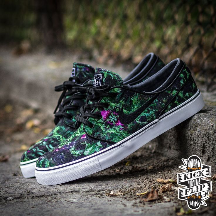 Nike SB Janoski Low Canvas-Floral-2
