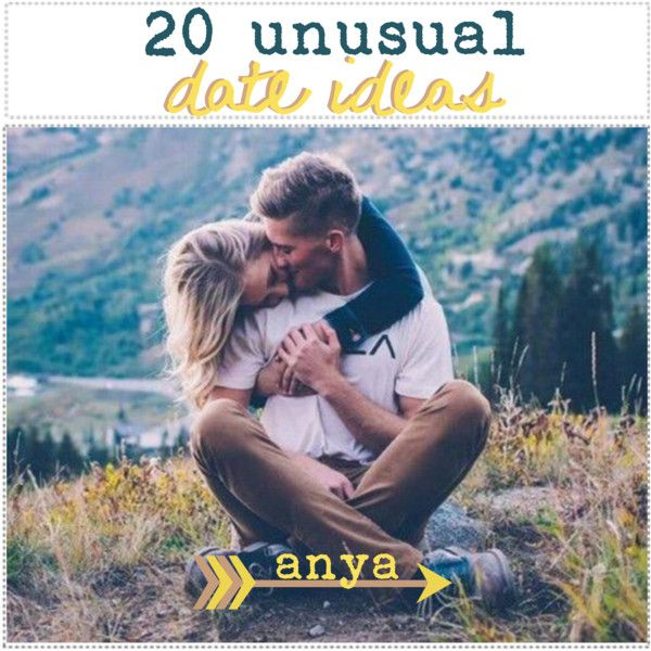 20 unusual date ideas ♡