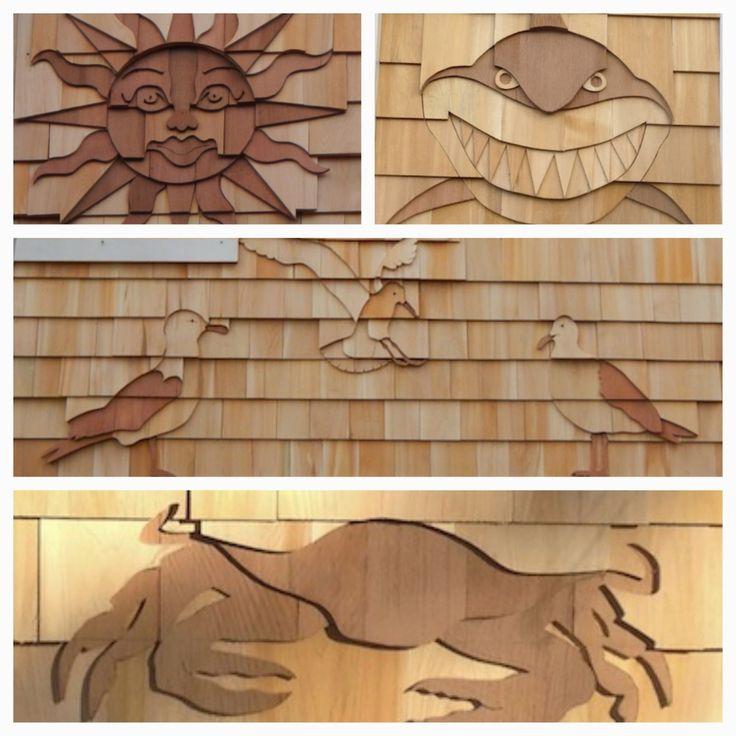 35 best cedar shingle designs images on pinterest cedar for Shingle designs