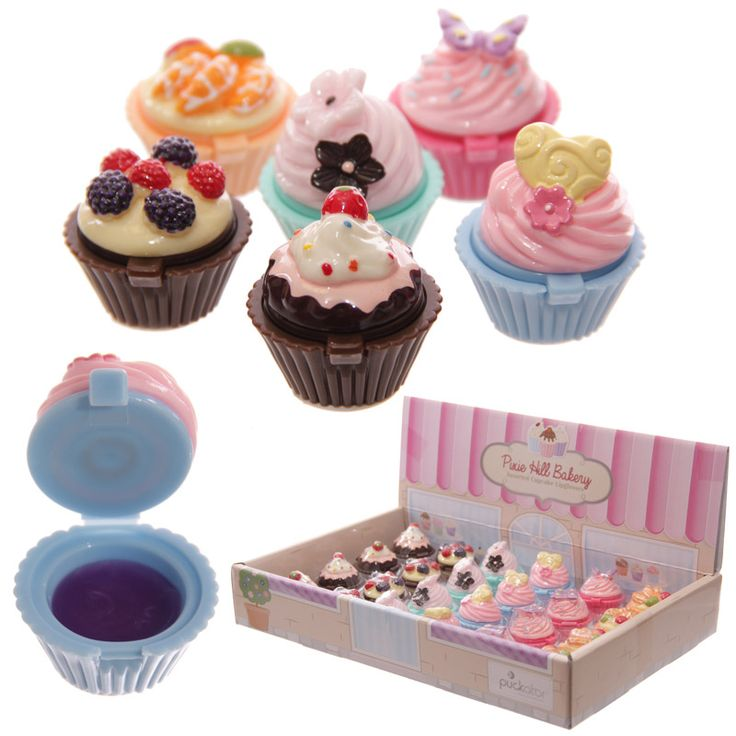 Lucidalabbra a forma di Cupcake