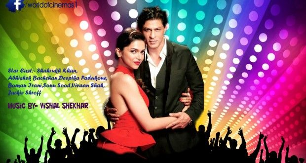 Happy New Year Movie Trailer - ShahRukh and Deepika: