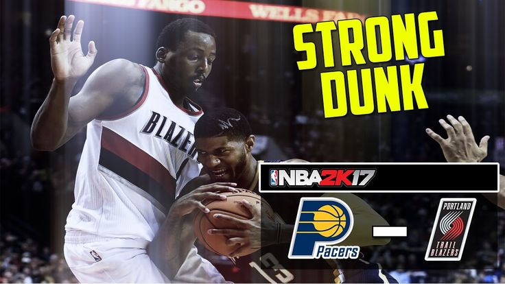 Indiana Pacers vs Portland Trail Blazers|Strong dunk|NBA Matchday Simula...
