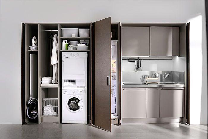 Small contemporary kitchen interior design