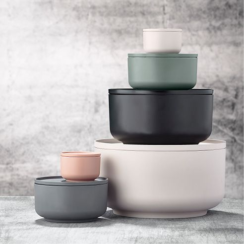 Peili bowls with lid