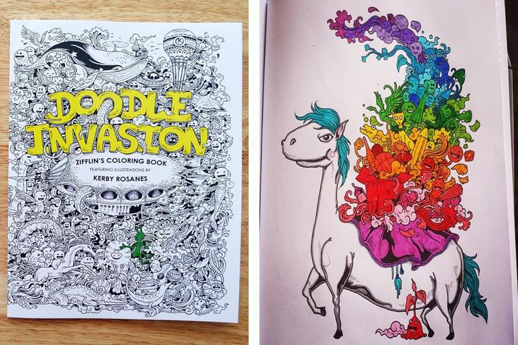 8 Amazing Coloring Books For Adults to Challenge the Artist in You - Doodle Invasion