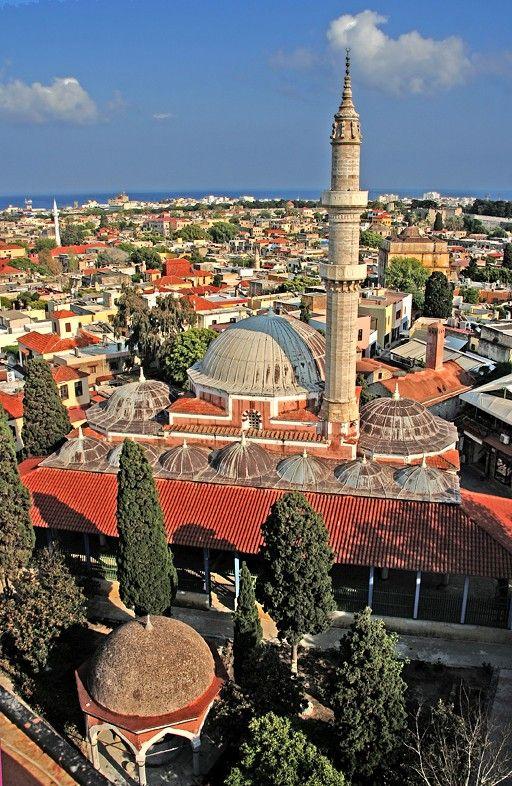 Grote Moskee (gemaakt in Rhodos)