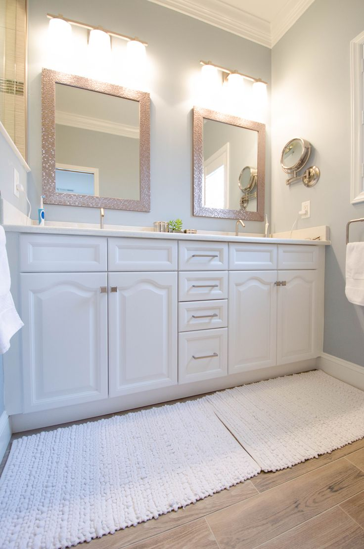 New floor   New Vanity   New EVERYTHING   This complete Bathroom Remodel  and Makeover was116 best Re Bath  Remodels images on Pinterest   Bathroom  . Rebath Of The Triad Greensboro. Home Design Ideas