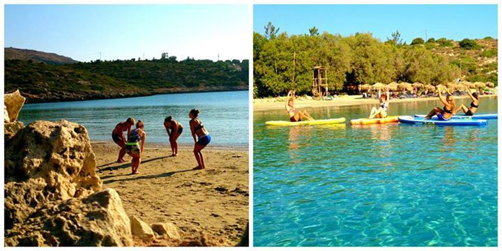 Just as soon as the sun rises, while the beach is still empty and the scenery so serene, we begin our morning SUP Yoga classes. Join us at Loutraki beach, Chania   http://paddleboardyoga.net/