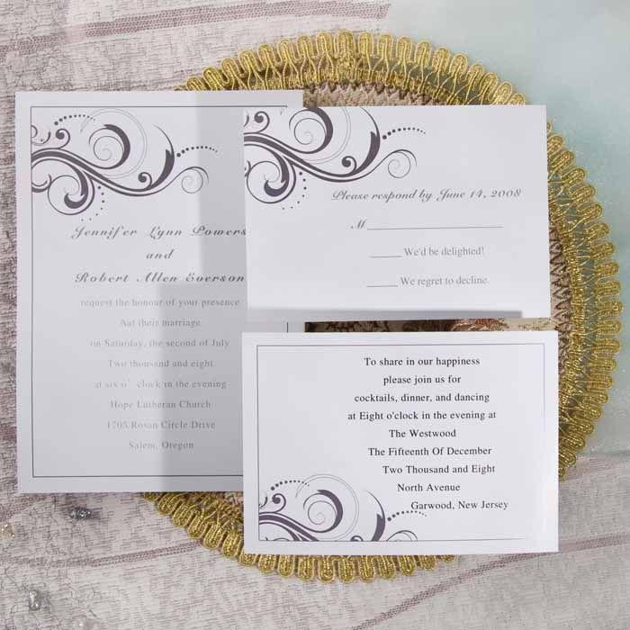 Silver Wedding Invitations Pinterest: 12 Best Images About Silver Wedding Invitations On