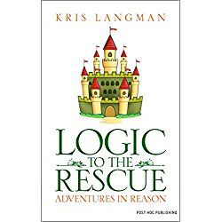 Logic to the Rescue is designed to teach kids critical thinking. A combination of fiction and non-fiction, it weaves examples of logical fallacies into a fictional sword-and-sorcery fantasy. Simple examples for testing a hypothesis and setting up experiments in chemistry, physics, and biology are integrated into the plot....
