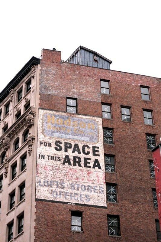 Brick facade + type = glorious
