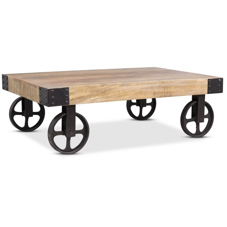Bangalore soffbord med hjul - 2490 kr - Trendrum.se