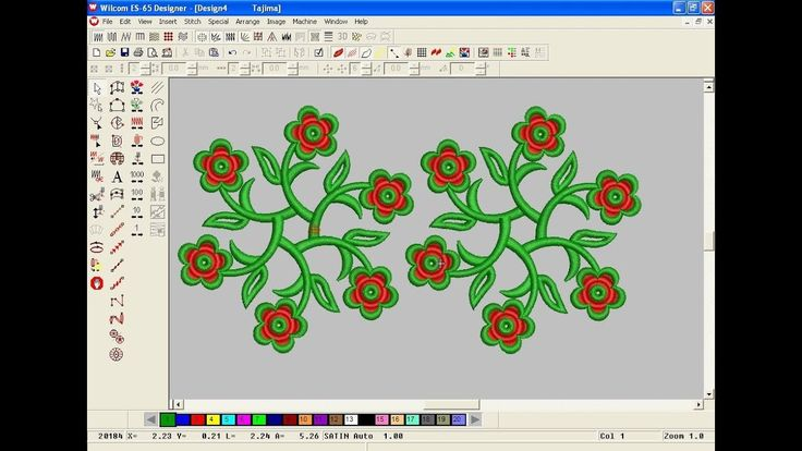 11 Best Embroidery Design Tutorial Images On Pinterest