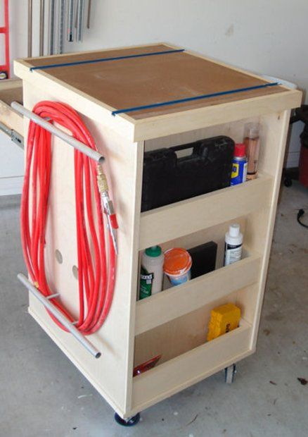 Diy Rolling Tool Cart Woodworking Projects Amp Plans