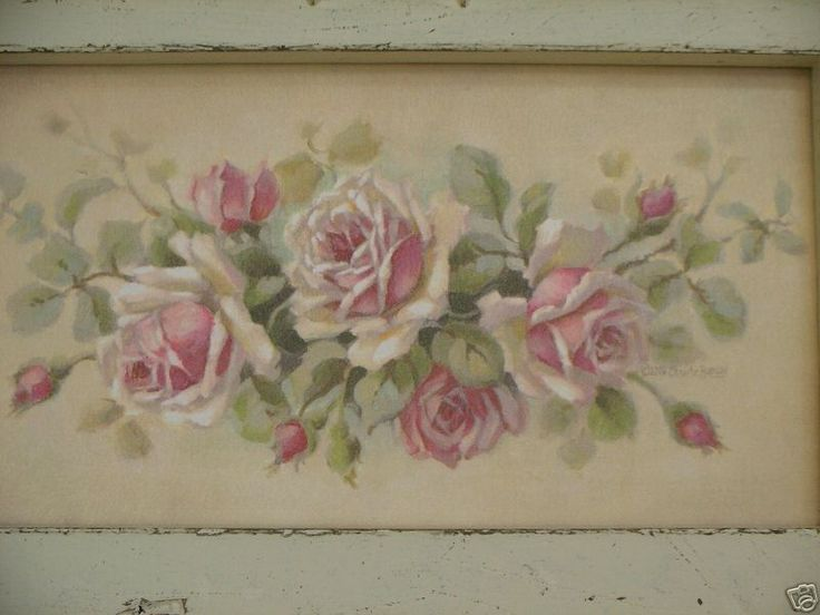 Christie Repasy Pink Roses Painting