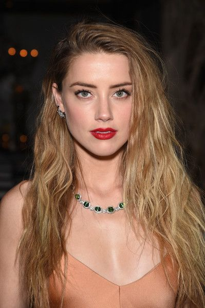 Amber Heard lush on April 15th 2015: Tiffany & Co. Celebrates The 2015 Blue Book Collection