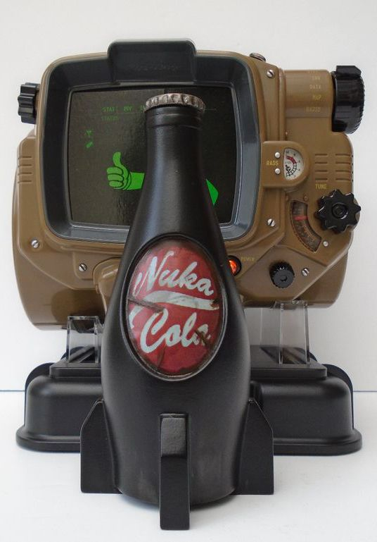 Not only does it look like the bottle in Fallout 4, you can actually drink out of it, too!