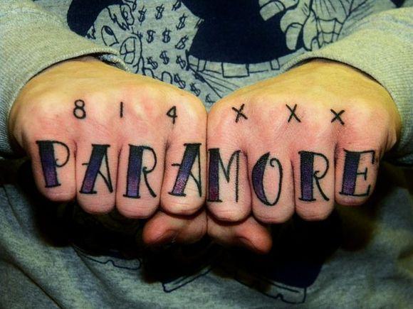 814 xxxTattoo Brighton, Tribute Paramore, Tattoo Tumblr, Tattoo 3, Favorite Band, Tattoo Band, Things Paramore, Things Ima, Paramore Tattoo