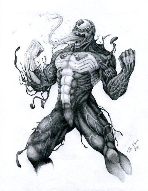 Venom By Tim Flores | Comic Art Venom | Pinterest | Tim Ou0026#39;brien And Venom