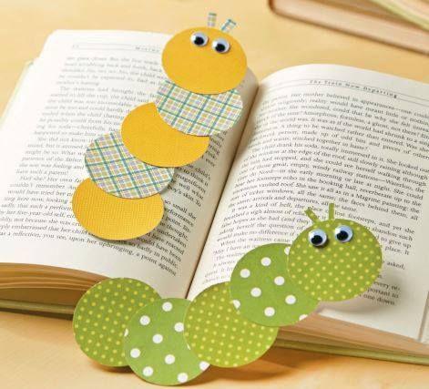 Caterpillar Bookmarks