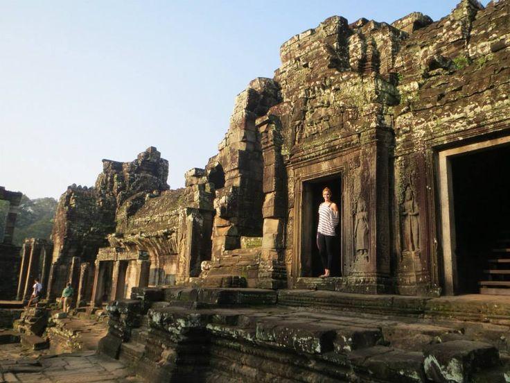 Angkor Thom (អង្គរធំ) in Siĕmréab, Siem Reap travelwithlamb.com Cambodia