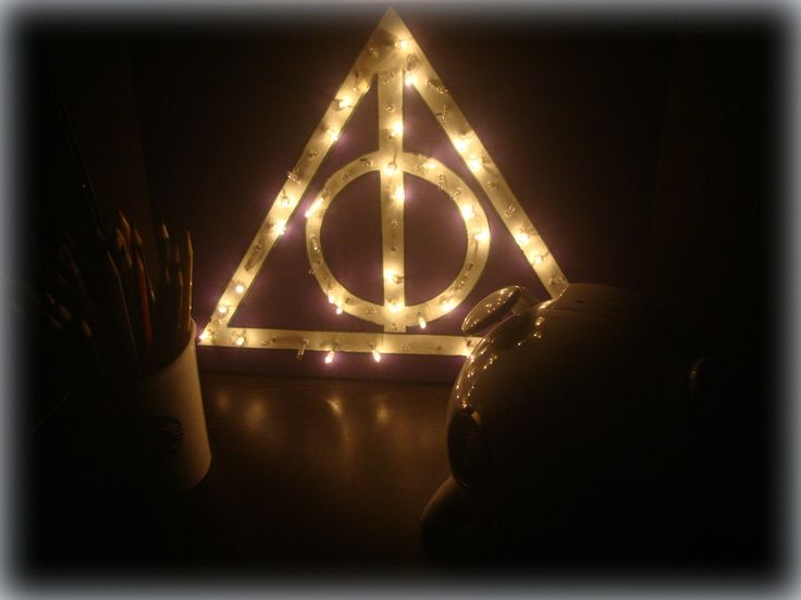 DIY - Quadro Luminoso Harry Potter