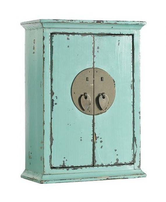 Elegant Wooden Key Cabinets with Hooks