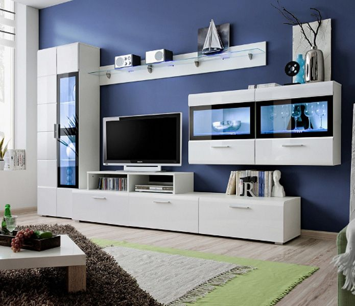 Fresh Wooden Cabinet Designs for Living Room
