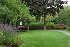 Le jardin de la détente au Centre de la Nature  de Laval