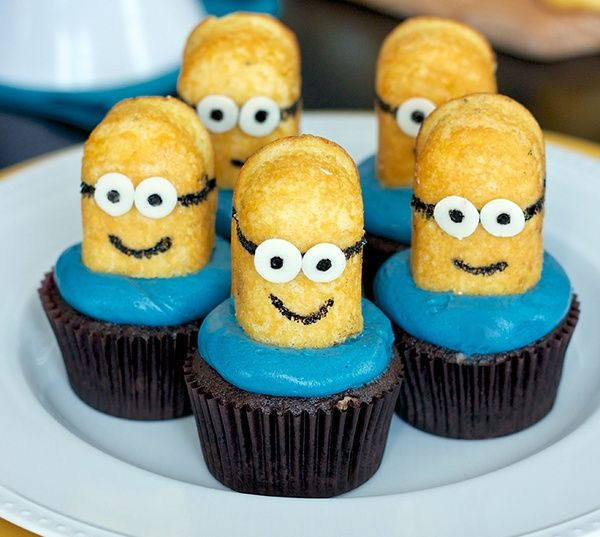 minion cupcake-k