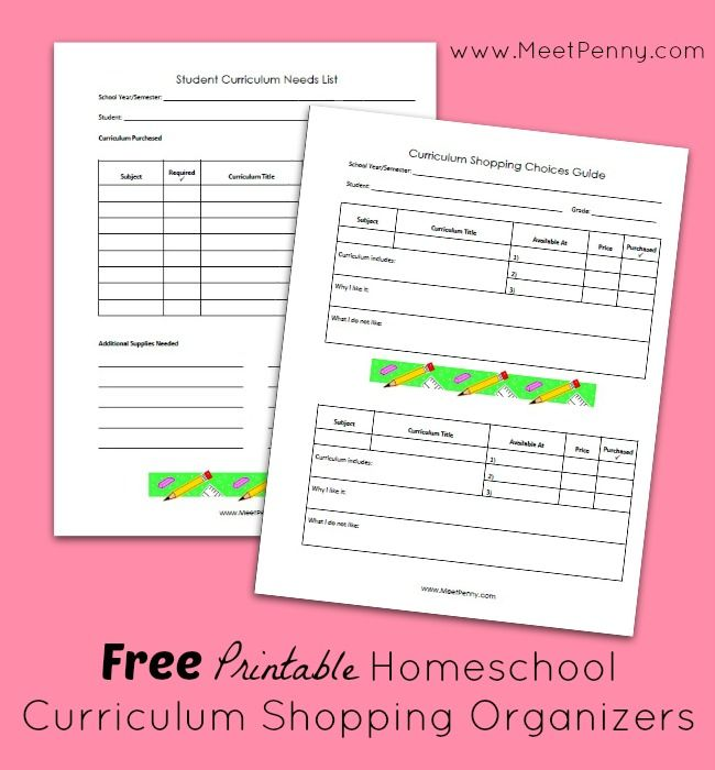 54 best Printables to Organize your Homeschool images on Pinterest ...